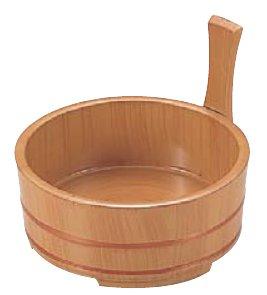 6寸片手桶白木